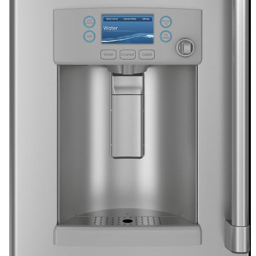 Café 27.8 Cu. Ft. French-Door Refrigerator with Hot Water Dispenser Stainless Steel