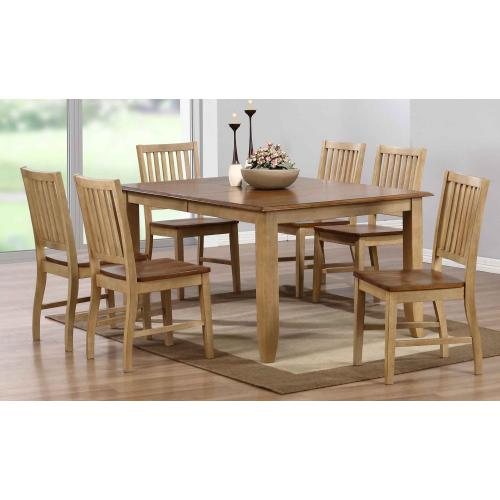 Extendable Table Dining Set (7 piece)