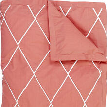 Retired Calypso Duvet Cover & Shams, RED, KING