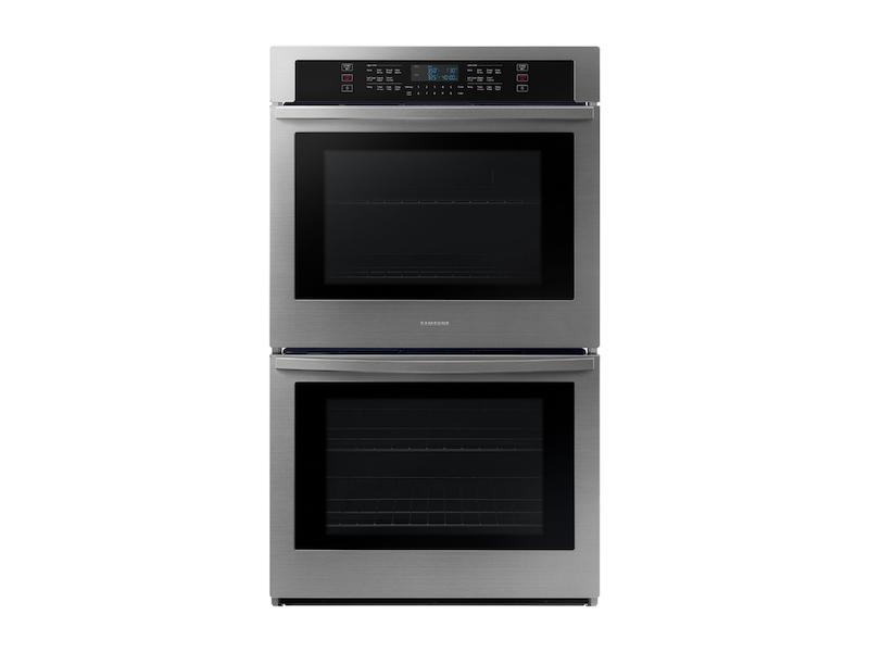 """Samsung30"""" Smart Double Wall Oven In Stainless Steel"""
