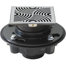"""See Details - DECO SWIRL STYLEDRAIN SET WITH 2""""/3"""" ABS"""