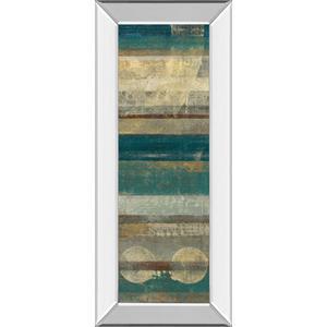 "Classy Art - ""Kuna Blue"" By Roque Silva Mirror Framed Print Wall Art"