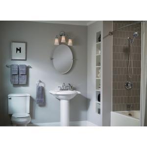 """Banbury chrome 24"""" towel bar"""