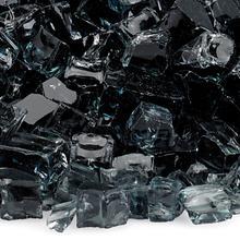 "See Details - 1/2"" Black, 10 Lb. Jar Fire Glass"