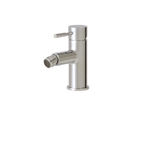 Single-hole bidet faucet with swivel spray