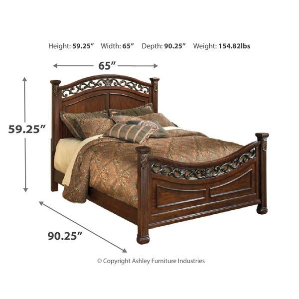 Leahlyn Queen Panel Bed