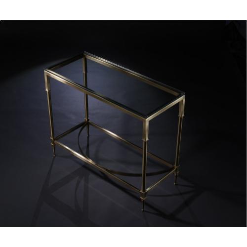 Parthenon Rectangular Condo Console Table