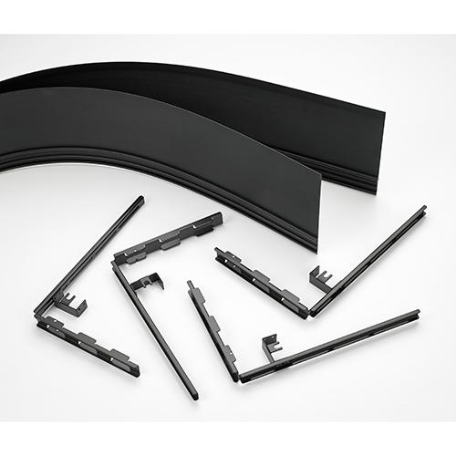 """Side Cover Kit with ConnexSys Brackets, 6"""" Depth"""