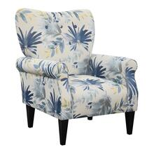 Lydia Accent Chair, Ocean Floral U3600-05-54