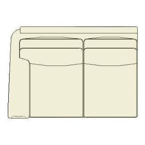 Sam Moore Furniture - Living Room Sage LAF Loveseat