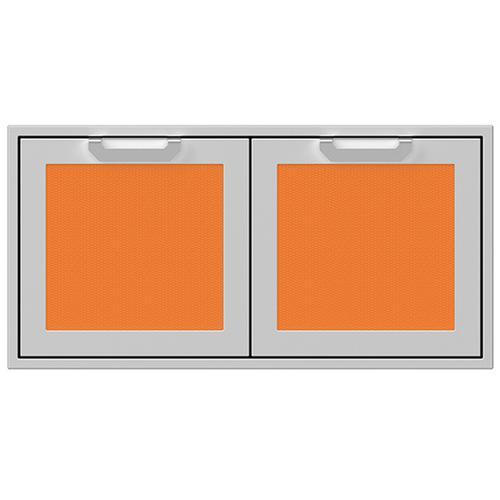 """Hestan - 42"""" Hestan Outdoor Double Access Doors - AGAD Series - Citra"""