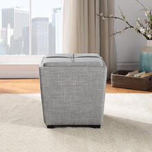 Rockford Storage Ottoman In Dove