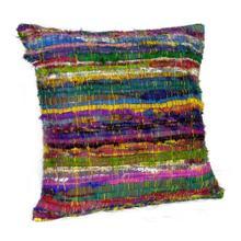 Chindi Multi-Colored Pillow