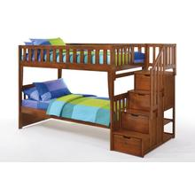 View Product - Peppermint Stair Bunk in Cherry Finish