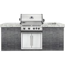 See Details - Built-In Prestige PRO 500 RB Stainless Steel with Infrared Rear Burner