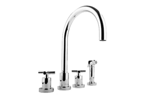 Infinity Kitchen Faucet w/ Side Spray Product Image