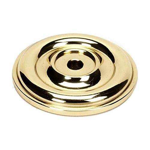 Bella Rosette A1460 - Polished Brass