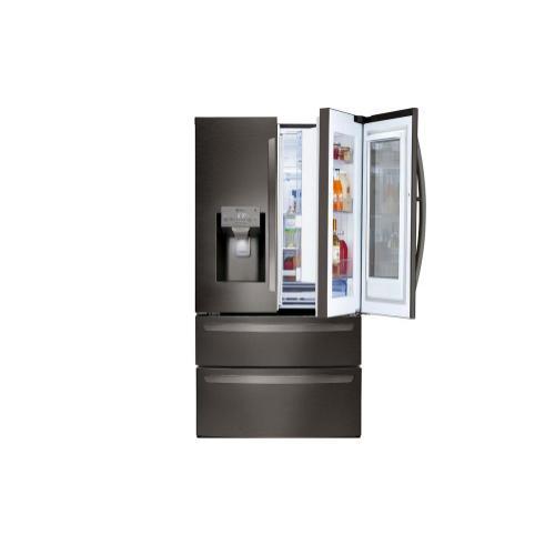 LG - 28 cu. ft. Smart wi-fi Enabled InstaView™ Door-in-Door® Refrigerator