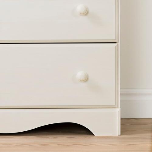 Summer Breeze - Desk with 3 Drawers, White Wash