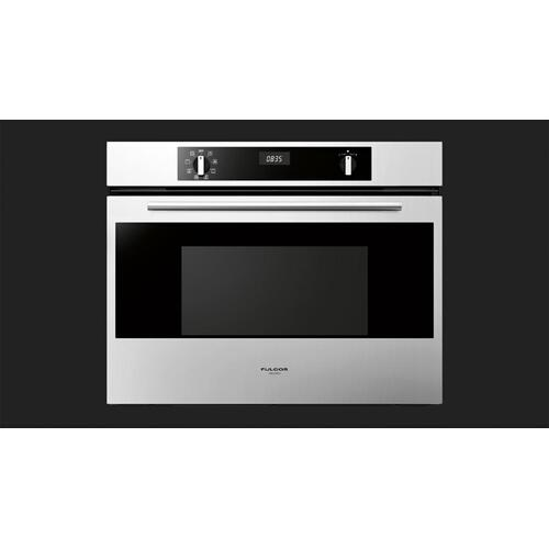"""Fulgor Milano - 30"""" Multifunction Self-clean Oven - Stainless Steel"""