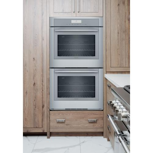 Thermador - Double Wall Oven 30'' Stainless Steel ME302WS