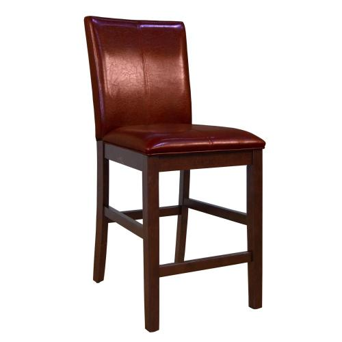 A America - Curved Back Parson Stool-Red