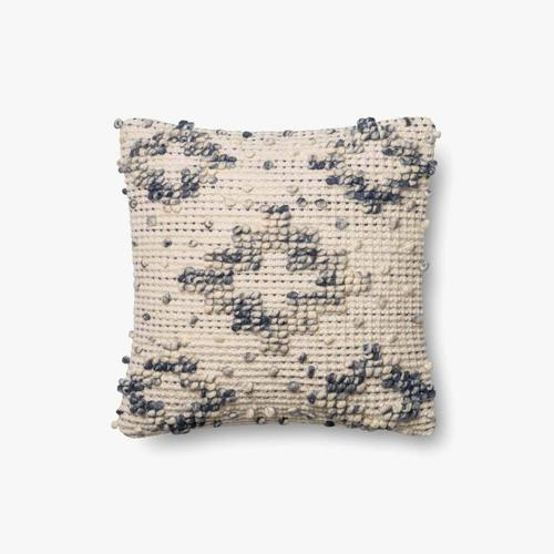 P0420 MH Blue / Ivory Pillow