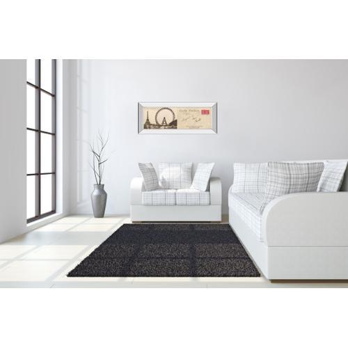 "Classy Art - ""Lettre De Paris Il"" By Wild Apple Graphics Mirror Framed Print Wall Art"