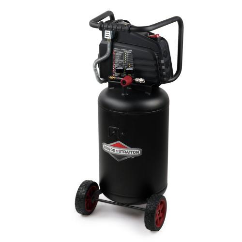 Briggs and Stratton - 10 Gallon Air Compressor - Bring power and portability to the jobsite