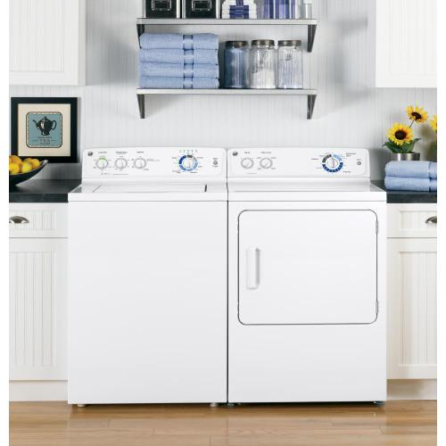 GE® 3.7 DOE cu. ft. capacity washer