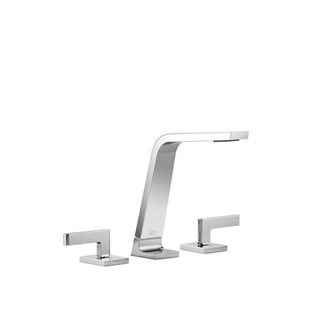 Lavatory spout, deck-mounted without drain - chrome
