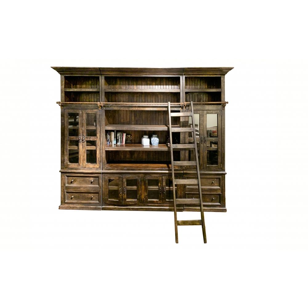 See Details - Factory 4 6-Piece Bookcase with Ladder