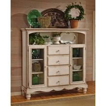 Wilshire Baker's Cabinet Antique White