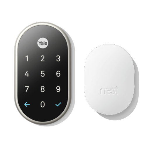 Nest X Yale Lock With Nest Connect Nickel