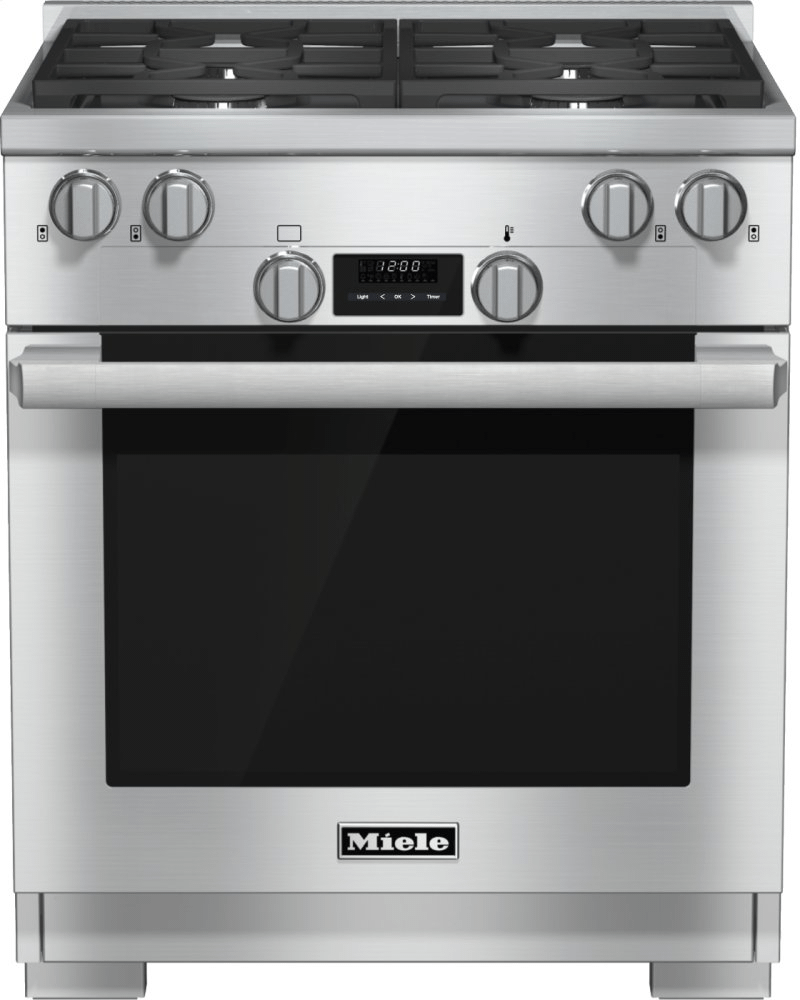 HR 1124 LP - 30 inch range All Gas with DirectSelect, Twin convection fans and M Pro dual stacked burners Photo #1