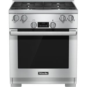 30 inch range All Gas with DirectSelect, Twin convection fans and M Pro dual stacked burners Product Image