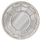 Beaded Frame & Inlay Wall Mirror Product Image