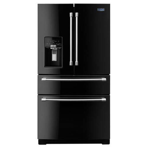 4-Door French Door Refrigerator with Steel Shelves - 26 cu. ft.