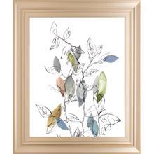 """Spring Leaves I"" By Meyers, R. Framed Print Wall Art"