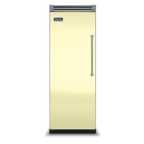 """Viking - Lemonade 30"""" Quiet Cool™ All Refrigerator - VIRB Tru-Flush™ (Left Hinge Door)"""