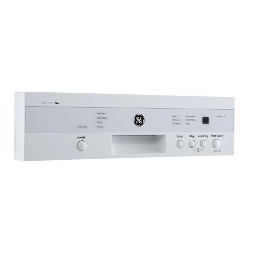 """GE 18"""" Built-In Front Control Dishwasher with Stainless Steel Tall Tub White - GBF180SGMWW"""