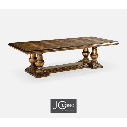"""110"""" Golden Ale Extending Dining Table"""
