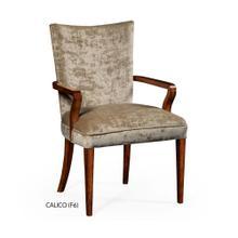 Biedermeier style mahogany dining armchair (Calico)