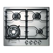 KitchenAid® 4 Burners Stainless Steel Surface 24-Inch Gas Cooktop