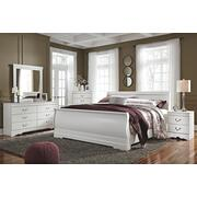 King Sleigh Headboard With Dresser Product Image