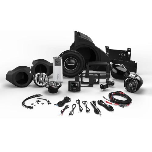 Rockford Fosgate - 1,000 Watt Stereo, Front and Rear Speaker, and Subwoofer Kit for Select Polaris® RZR® Models