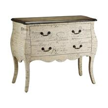 See Details - Bombe chest 2 drawer scri