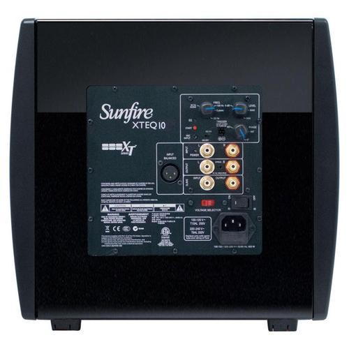 "Sunfire - XTEQ Subwoofer EQ DUAL 10"" Multivoltage"