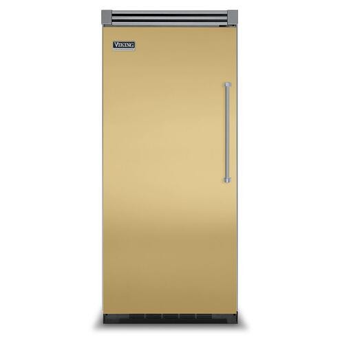 "Viking - Golden Mist 36"" Quiet Cool™ All Refrigerator - VIRB Tru-Flush™ (Left Hinge Door)"