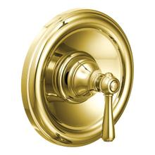 Kingsley polished brass posi-temp® shower only